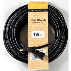 Кабель HDMI 19M - HDMI 19M (TV-COM CG150S-15M) (черный)