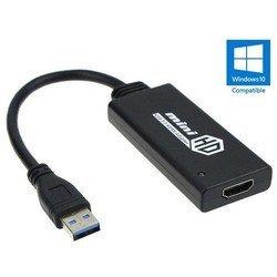 ������� (����������) USB3.0 (m) - HDMI (f) (Orient C024) (������)
