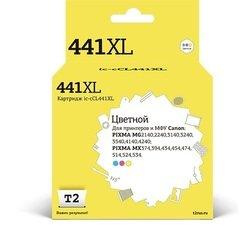 Картридж для Canon PIXMA MG2140, MG2240, MG3140, MG3240, MG3540, MG4140 (T2 IC-CCL441XL) (цветной)