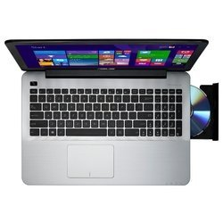 "asus x555lj (intel core i3 5010u 2100 mhz/15.6""/1366x768/4.0gb/1000gb/dvd-rw/nvidia geforce 920m/wi-fi/bluetooth/dos)"