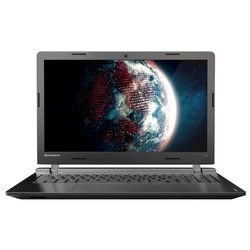 "lenovo ideapad 100 15 (intel celeron n2840 2160 mhz/15.6""/1366x768/4.0gb/1000gb/dvd нет/intel gma hd/wi-fi/dos)"
