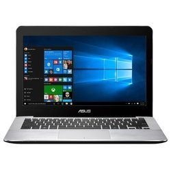 "asus x302la (core i3 5005u 2000 mhz/13.3""/1920x1080/4.0gb/1000gb/dvd нет/intel hd graphics 5500/wi-fi/bluetooth/dos)"