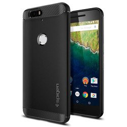 Клип-кейс для Huawei Nexus 6P Spigen Case Rugged Armor (SGP11797) (черный)