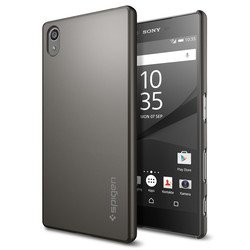 ����-���� ��� sony xperia z5 spigen thin fit series (sgp11804) (��������)