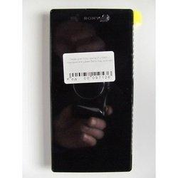 Дисплей с тачскрином для Sony Xperia Z1 C6903 в рамке (97126) (черный)