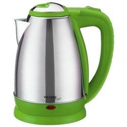 Чайник Viconte VC-3245 2000 Вт серебристый зелёный 2 л металл