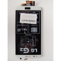 Дисплей для LG G2 D802 с тачскрином (97273) (белый)
