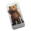 Силиконовый чехол-накладка для Apple iPhone 6, 6S (0L-00002966) (Медведь Тэд Пьяница) - Чехол для телефонаЧехлы для мобильных телефонов<br>Чехол плотно облегает корпус и гарантирует надежную защиту от царапин и потертостей.<br>