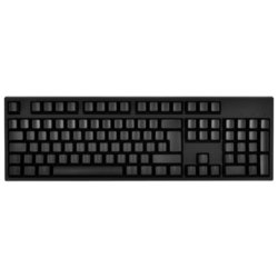 wasd keyboards v2 105-key iso custom mechanical keyboard cherry mx green black usb