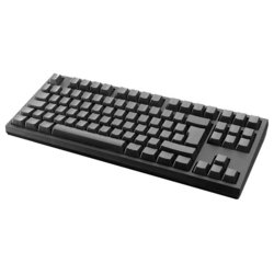 wasd keyboards v2 88-key iso barebones mechanical keyboard cherry mx green black usb