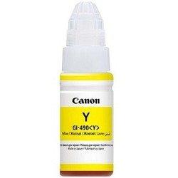 Чернила для Canon PIXMA G1400, G2400, G3400 (GI-490Y 0666C001) (желтый)