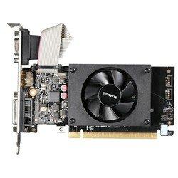 Gigabyte nVidia GeForce GT 710 PCI-E 1024Mb 64bit DDR3 954/1800 DVIx1/HDMIx1/CRTx1/HDCP (GV-N710D3-1GL) Ret