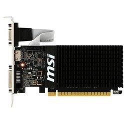 MSI nVidia GeForce GT 710 PCI-E 2048Mb 64bit DDR3 954/1600 DVIx1/HDMIx1/CRTx1/HDCP (GT 710 2GD3H LP) Ret