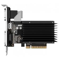 Palit nVidia GeForce GT 710 PCI-E 1024Mb 64bit DDR3 954/1600 DVIx1/HDMIx1/CRTx1/HDCP (PA-GT710-1GD3H) OEM