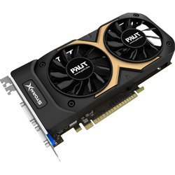 Palit StormX OC 2G nVidia GeForce GTX 750Ti PCI-E 2048Mb 128bit GDDR5 1202/6008 DVIx1/HDMIx1/CRTx1/HDCP (PA-GTX750Ti) RET