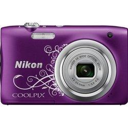 Nikon Coolpix A100 (фиолетовый с рисунком)