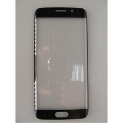 Стекло экрана для Samsung Galaxy S6 Edge G925 (97343) (синий) 1 категория