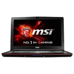 "msi gp62 6qf leopard pro (intel core i7 6700hq 2600 mhz/15.6""/1920x1080/8gb/1000gb/dvd-rw/nvidia geforce gtx 960m/wi-fi/bluetooth/dos)"