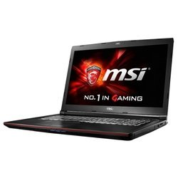 "msi gp72 6qf leopard pro (intel core i7 6700hq 2600 mhz/17.3""/1920x1080/8gb/1000gb/dvd-rw/nvidia geforce gtx 960m/wi-fi/bluetooth/dos)"