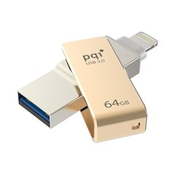PQI iConnect mini 64GB (6I04-064GR2001) (золотистый)