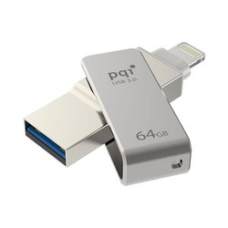PQI iConnect mini 64GB (6I04-064GR1001) (серый)