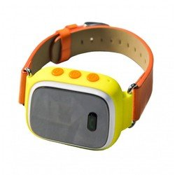 Детский GPS трекер часы-телефон (Palmexx PXGPSWH) (желтый)