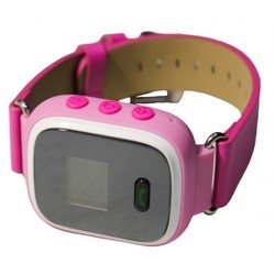 Детский GPS трекер часы-телефон (Palmexx PXGPSWH) (розовый)