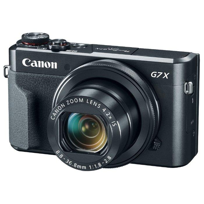 Canon PowerShot G7X Mark II (черный) - Фотоаппарат цифровой