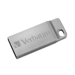 verbatim metal executive 64gb (98750) (серебристый)