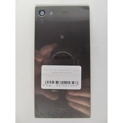 Задняя крышка для Sony Xperia Z5 Compact E5823 (97363) (черный)