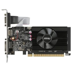 msi geforce gt 710 954mhz pci-e 2.0 1024mb 1600mhz 64 bit dvi hdmi hdcp low profile rtl