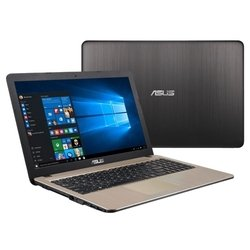 "asus r540la (intel core i3 4005u 1700 mhz/15.6""/1366x768/4.0gb/1000gb/dvd-rw/intel hd graphics 4400/wi-fi/win 10 home)"