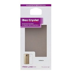 Силиконовый чехол-накладка для Acer Liquid Z330 (iBox Crystal YT000008208) (прозрачный)