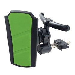 """Автомобильный держатель для смартфона, навигатора до 6.5"""" (Perfeo PH-507) (черно-зеленый)"""