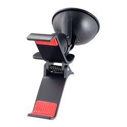 """Автомобильный держатель для смартфона, навигатора до 6"""" (Perfeo PH-505) (черный)"""