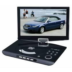 """Портативный Плеер Rolsen RPD-10D09D 10.1"""", 1024x600, поворотный экран, DVD, CD SD, MMC черный"""