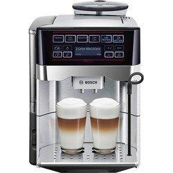 Кофемашина Bosch TES60729RW 1500Вт черный, серебристый