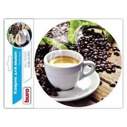 Коврик для мыши Buro BU-T60051 (рисунок кофе)