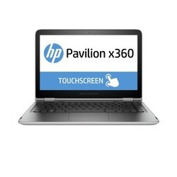 "трансформер hp pavilion x360 13-s101ur core i5 6200u, 6gb, ssd128gb, intel hd graphics 520, 13.3"", ips, touch, fhd (1920x1080), windows 10 64, silver, wifi, bt, cam"