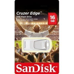 sandisk cruzer edge 16gb 2016 football (белый)