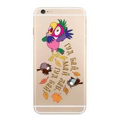Чехол-накладка для Apple iPhone 6 Plus (Deppa Art Case 100581) (Кеша, прозрачный)