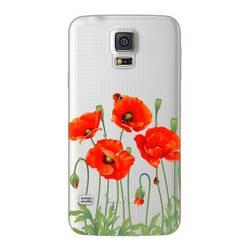 Чехол-накладка для Samsung Galaxy S5 (Deppa Art Case 100110) (Мак, прозрачный)