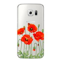 Чехол-накладка для Samsung Galaxy S6 Edge (Deppa Art Case 100122) (Мак, прозрачный)