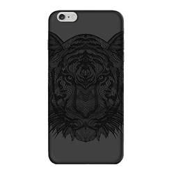 Чехол-накладка для Apple iPhone 6 Plus, 6S Plus (Deppa Art Case 100262) (Тигр, черный)