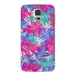 Чехол-накладка для Samsung Galaxy S5 (Deppa Art Case 100160) (Пальмы)