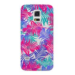 Чехол-накладка для Samsung Galaxy S5 mini (Deppa Art Case 100164) (Пальмы)