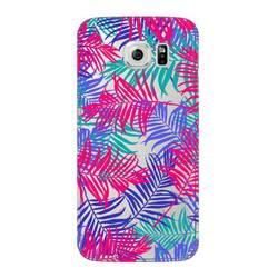 Чехол-накладка для Samsung Galaxy S6 (Deppa Art Case 100168) (Пальмы)