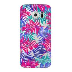 Чехол-накладка для Samsung Galaxy S6 Edge (Deppa Art Case 100172) (Пальмы)