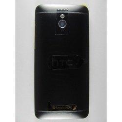 Задняя крышка для HTC One mini 601e с боковыми клавишами (70073) (черный)