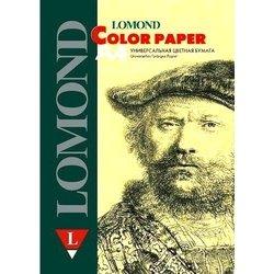 Офисная цветная бумага A4 (200 листов) (Lomond 1004208) (светло-желтый)
